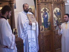 3 Света Литургија и  молебaн за почетак нове школске године у Мостару