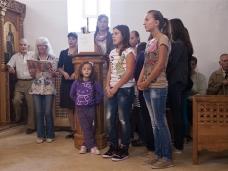 5 Света Литургија и  молебaн за почетак нове школске године у Мостару