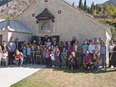 11 Света Литургија и  молебaн за почетак нове школске године у Мостару