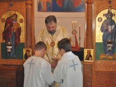 2 Светa Архијерејскa Литургијa у Старој цркви у Мостару