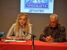 5 СПКД ПРОСВЈЕТА ГО Мостар - Конференција за штампу