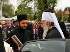 13 Посјета Патријарха Иринеја Невесињу