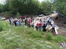 8 Служен помен и Литургија у селу Заборани код Невесиња