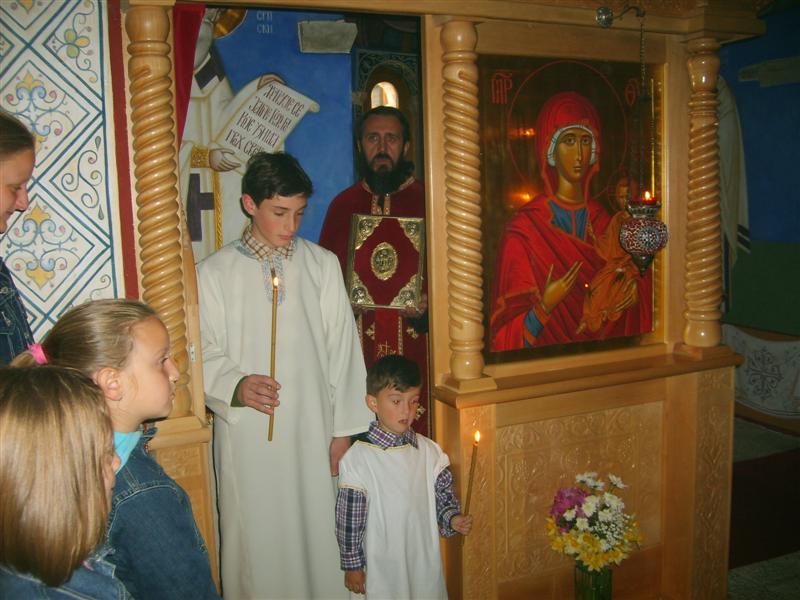 1 Васкрс  у Петропавловом Манастиру