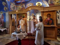 10 Св. Литургија у Петропавловом манастиру