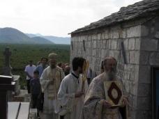 8 Пољице - освештање цркве