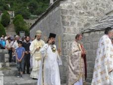 9 Пољице - освештање цркве