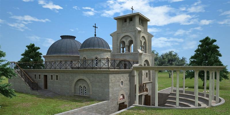 5  Спомен-храм Пребиловци