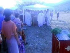 1 Света Литургија и парастос  у Пребиловцима