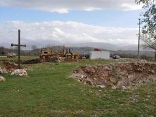 3 Припрема градилишта на Храму Васкрсења Христовог  у Пребиловцима