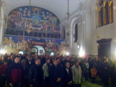 1 Божићна јутарња Литургија у Саборном храму