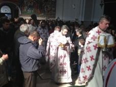 2 Света Литургија у Саборном храму у Требињу
