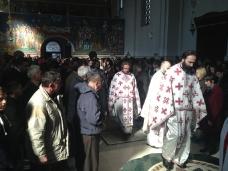 3 Света Литургија у Саборном храму у Требињу