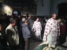 4 Света Литургија у Саборном храму у Требињу