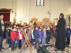 1 Посјета првачића Саборном храму у Требињу