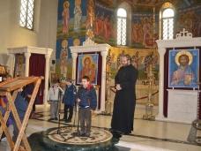 2 Посјета првачића Саборном храму у Требињу
