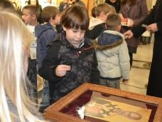 7 Посјета првачића Саборном храму у Требињу