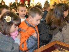 8 Посјета првачића Саборном храму у Требињу