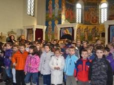 9 Посјета првачића Саборном храму у Требињу