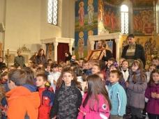 10 Посјета првачића Саборном храму у Требињу