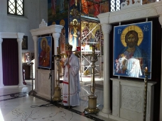 2 Св. Арх. Литургија у Требињу