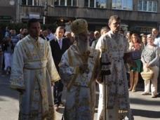 11  Светa Aрхијерејскa Литургијa у Цркви Рођења Пресвете Богородице у Сарајеву