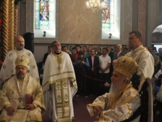15 Светa Aрхијерејскa Литургијa у Цркви Рођења Пресвете Богородице у Сарајеву