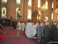 21 Светa Aрхијерејскa Литургијa у Цркви Рођења Пресвете Богородице у Сарајеву