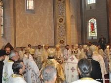 26 Светa Aрхијерејскa Литургијa у Цркви Рођења Пресвете Богородице у Сарајеву