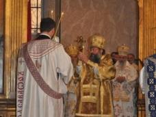29 Светa Aрхијерејскa Литургијa у Цркви Рођења Пресвете Богородице у Сарајеву