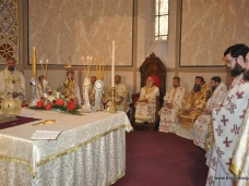 33 Светa Aрхијерејскa Литургијa у Цркви Рођења Пресвете Богородице у Сарајеву