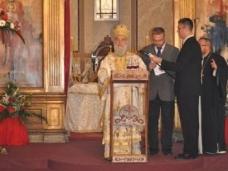37 Светa Aрхијерејскa Литургијa у Цркви Рођења Пресвете Богородице у Сарајеву