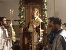 1 Поноћна Св. Литургија на Божић у требињском Саборном храму