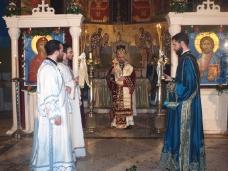 3 Поноћна Св. Литургија на Божић у требињском Саборном храму