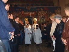 6 Поноћна Св. Литургија на Божић у требињском Саборном храму