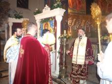 7 Поноћна Св. Литургија на Божић у требињском Саборном храму