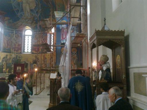 1 Св. Арх. Литургија на Цвијети у Требињу