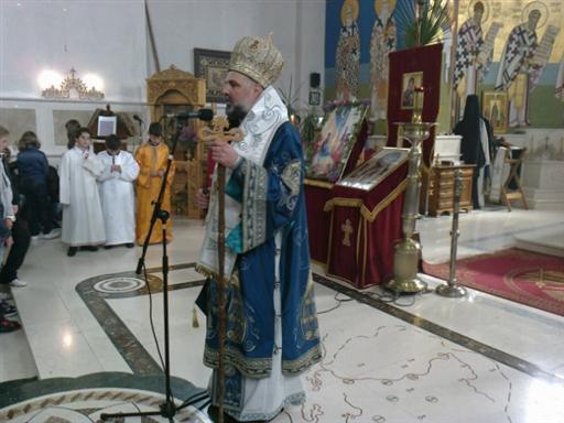 4 Св. Арх. Литургија на Цвијети у Требињу