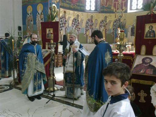 5 Св. Арх. Литургија на Цвијети у Требињу