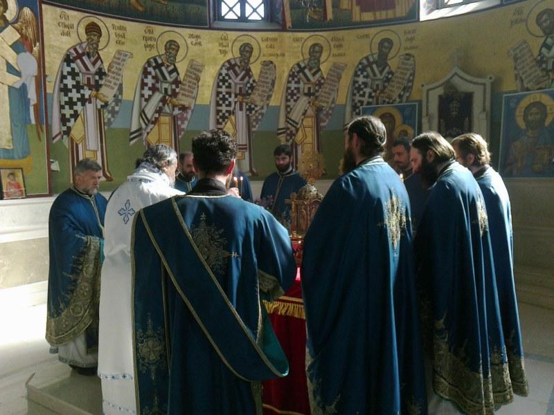 11 Св. Арх. Литугија на Велики Четвртак у Требињу