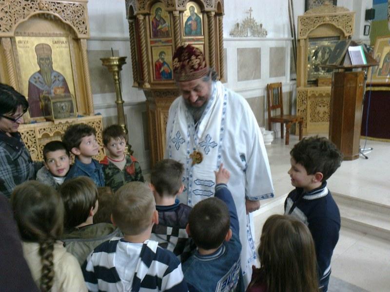 14 Св. Арх. Литугија на Велики Четвртак у Требињу
