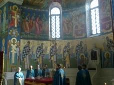 1 Св. Арх. Литугија на Велики Четвртак у Требињу