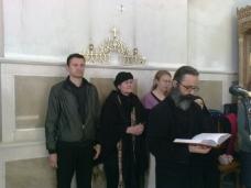 6 Св. Арх. Литугија на Велики Четвртак у Требињу