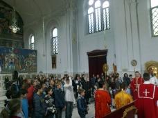 9 Св. Арх. Литугија на Велики Четвртак у Требињу