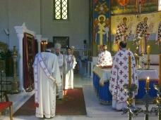 1 Света Aрхијерејска Литургија у Саборном храму у Требињу