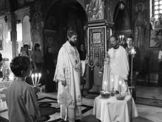 2 Епископ Максим служио Св. Литургију у Манастиру Тврдош