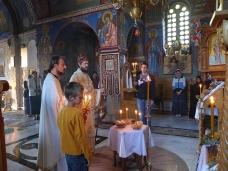 3 Епископ Максим служио Св. Литургију у Манастиру Тврдош
