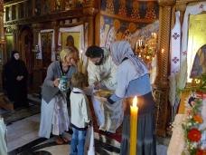 21 Епископ Максим служио Св. Литургију у Манастиру Тврдош
