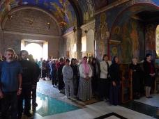 22 Епископ Максим служио Св. Литургију у Манастиру Тврдош