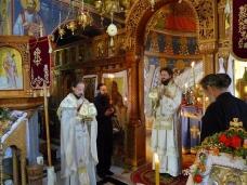 23 Епископ Максим служио Св. Литургију у Манастиру Тврдош